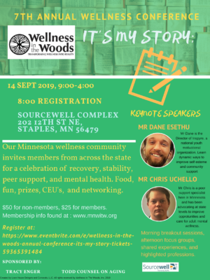 Wellness in the Woods - 7th Annual Conference Poster
